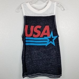 Mighty Fine tank with USA printed